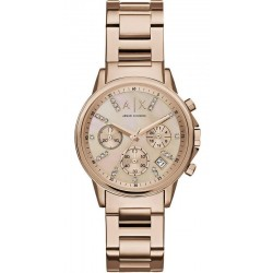 Orologio Armani Exchange Donna Lady Banks Cronografo AX4326