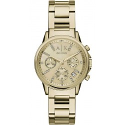 Orologio Armani Exchange Donna Lady Banks AX4327 Cronografo