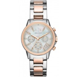 Orologio Armani Exchange Donna Lady Banks AX4331 Cronografo