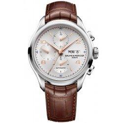 Orologio Baume & Mercier Uomo Clifton 10129 Cronografo Automatico