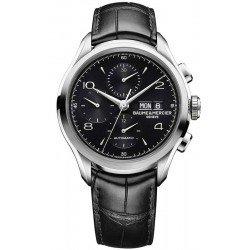 Orologio Baume & Mercier Uomo Clifton 10211 Cronografo Automatico