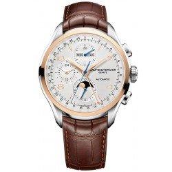 Orologio Baume & Mercier Uomo Clifton Chronograph Moonphase Automatic 10280