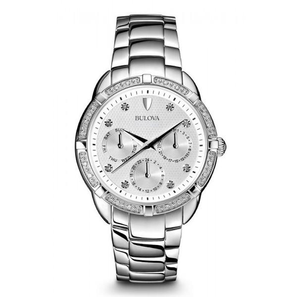 Comprare Orologio Bulova Donna Diamonds 96S152 Quartz