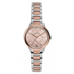 Orologio Donna Burberry The Classic Round BU10117