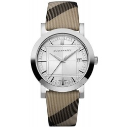 Orologio Unisex Burberry The City Nova Check BU1390