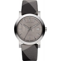 Orologio Unisex Burberry The City Nova Check BU1774