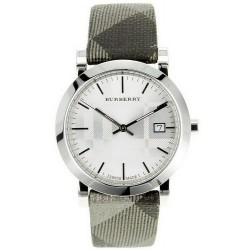 Orologio Unisex Burberry The City Nova Check BU1869