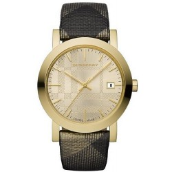 Orologio Unisex Burberry The City Nova Check BU1874