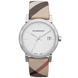 Orologio Unisex Burberry The City Nova Check BU9022