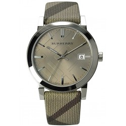 Orologio Unisex Burberry The City Nova Check BU9023