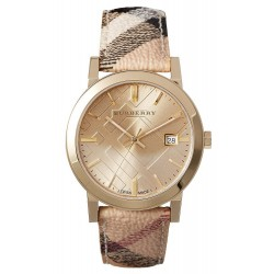 Orologio Unisex Burberry The City Nova Check BU9026