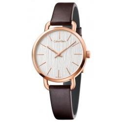 Comprare Orologio Donna Calvin Klein Even K7B236G6
