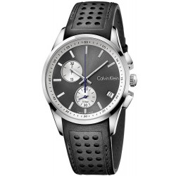 Comprare Orologio Uomo Calvin Klein Bold K5A371C3 Cronografo