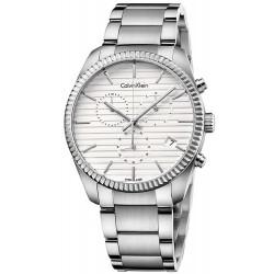 Comprare Orologio Uomo Calvin Klein Alliance K5R37146 Cronografo