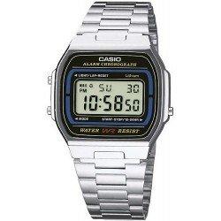 Orologio Unisex Casio Collection A164WA-1VES Multifunzione Digitale