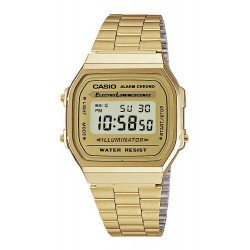 Orologio Unisex Casio Collection A168WG-9EF Multifunzione Digitale