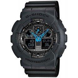 Orologio da Uomo Casio G-Shock GA-100C-8AER Multifunzione Ana-Digi