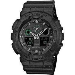 Orologio da Uomo Casio G-Shock GA-100MB-1AER Multifunzione Ana-Digi