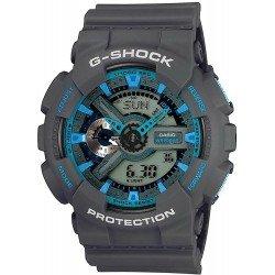 Orologio da Uomo Casio G-Shock GA-110TS-8A2ER Multifunzione Ana-Digi