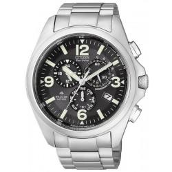 Orologio da Uomo Citizen Radiocontrollato Crono Pilot AS4041-52E