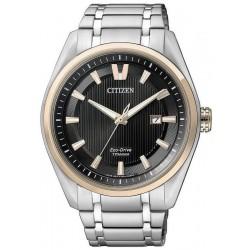 Orologio da Uomo Citizen Super Titanium Eco Drive AW1244-56E