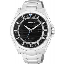 Orologio da Uomo Citizen Super Titanium Eco-Drive AW1400-52E