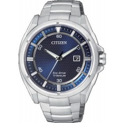 Orologio da Uomo Citizen Super Titanium Eco-Drive AW1400-52M