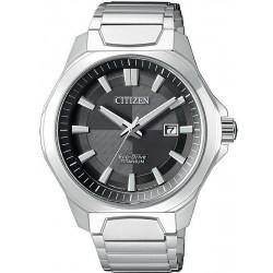 Orologio da Uomo Citizen Super Titanium Eco-Drive AW1540-53E