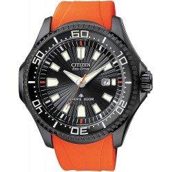 Orologio da Uomo Citizen Promaster Diver's Eco-Drive 300M BN0088-03E