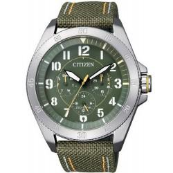 Orologio da Uomo Citizen Military Eco-Drive BU2030-09W Multifunzione