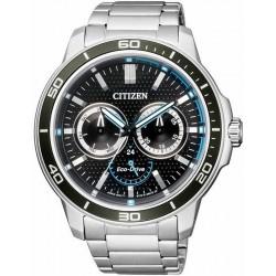 Orologio da Uomo Citizen Marine Eco-Drive BU2040-56E Multifunzione