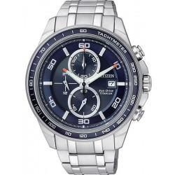 Orologio da Uomo Citizen Super Titanium Crono Eco-Drive CA0345-51L