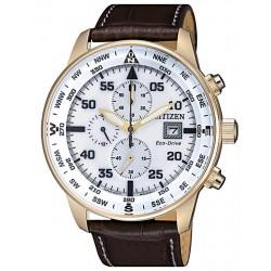 Orologio da Uomo Citizen Crono Aviator Eco-Drive CA0693-12A