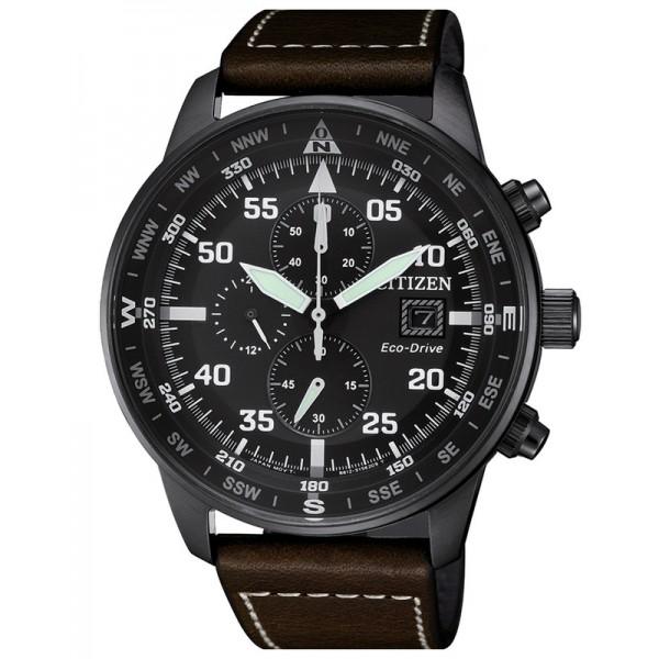 Comprare Orologio da Uomo Citizen Crono Aviator Eco-Drive CA0695-17E