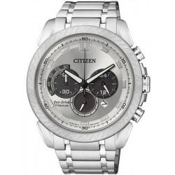 Orologio da Uomo Citizen Super Titanium Crono Eco-Drive CA4060-50A