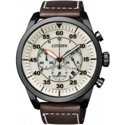 Orologio da Uomo Citizen Crono Aviator Eco-Drive CA4215-04W