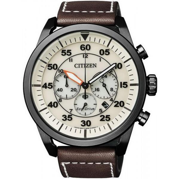 Comprare Orologio da Uomo Citizen Crono Aviator Eco-Drive CA4215-04W