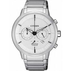 Orologio da Uomo Citizen Super Titanium Crono Eco-Drive CA4400-88A