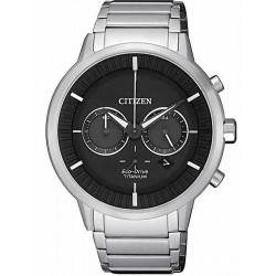 Orologio da Uomo Citizen Super Titanium Crono Eco-Drive CA4400-88E