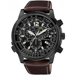 Comprare Orologio da Uomo Citizen Radiocontrollato Crono Pilot CB5865-15E