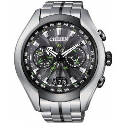 Orologio da Uomo Citizen Satellite Wave Air Eco-Drive Titanio CC1054-56E