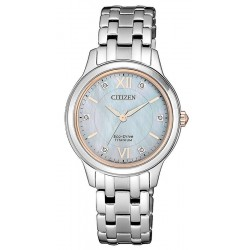 Orologio Donna Citizen Lady Super Titanio EM0726-89Y