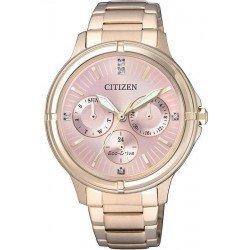 Orologio Donna Citizen Lady Eco-Drive FD2033-52W Multifunzione