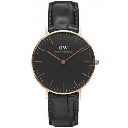 Orologio Daniel Wellington Unisex Classic Black Reading 36MM DW00100141