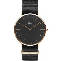 Orologio Daniel Wellington Uomo Classic Black Cornwall 40MM DW00100148