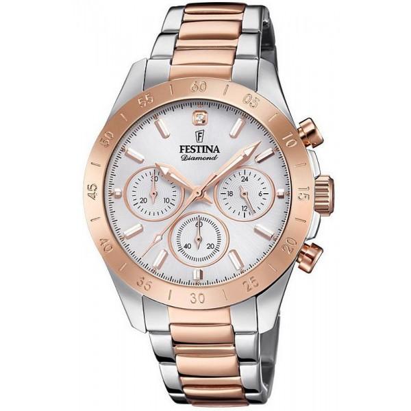 Comprare Orologio Festina Donna Boyfriend F20398/1 Cronografo Quartz