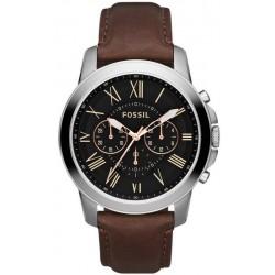 Comprare Orologio da Uomo Fossil Grant FS4813 Cronografo Quartz
