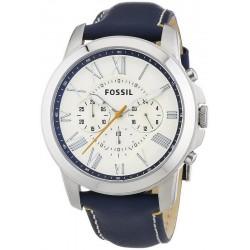 Comprare Orologio da Uomo Fossil Grant FS4925 Cronografo Quartz