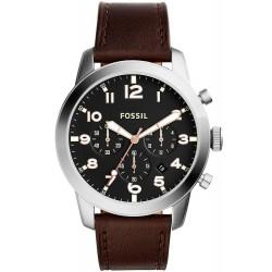 Orologio da Uomo Fossil Pilot 54 FS5143 Cronografo Quartz