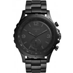 Orologio da Uomo Fossil Q Nate Hybrid Smartwatch FTW1115